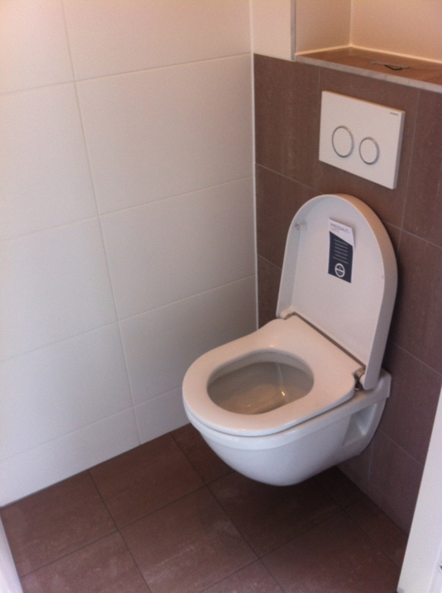 Toilet renovatie Ilpendam